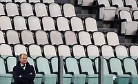 Footbal Soccer: FIFA World Cup Qatar 2022 Qualification, Portugal - Azerbaijan, Allianz Stadium , Turin, March 24, 2021.<br /> Azerbaijan's coach Giovanni Di Biasi looks on during the FIFA World Cup Qatar 2022 qualification, football match between Portugal and Azerbaijan, at Allianz Stadium in Turin, on March 24, 2021.<br /> UPDATE IMAGES PRESS/Isabella Bonotto