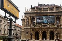U-Bahn M1, Földalatti unter der Andrássy ut, Station Opera und Oper, Budapest, Ungarn, UNESCO-Weltkulturerbe