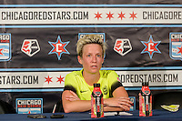 Chicago, IL - Sunday Sept. 04, 2016: Megan Rapinoe after a regular season National Women's Soccer League (NWSL) match between the Chicago Red Stars and Seattle Reign FC at Toyota Park.