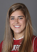 STANFORD, CA - OCTOBER 29:  Anastasia Fullerton of the Stanford Cardinal women's lacrosse team poses for a headshot on October 29, 2009 in Stanford, California.