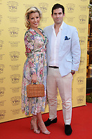 Natalie and Zafar Rushdie<br /> arriving for the TWG Tea Gala Event at Leicester Square, London<br /> <br /> ©Ash Knotek  D3413  02/07/2018