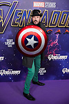 Alex O'dogherty attends to Avengers Endgame premiere at Capitol cinema in Madrid, Spain. April 23, 2019. (ALTERPHOTOS/A. Perez Meca)