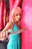 Model release photo of a young adult female cosplayer<br /> <br /> COPYRIGHT : 2015, Pierre Roussel
