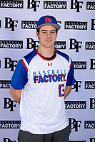 Alexander Forry (13) of Livonia Franklin in Livonia, Michigan during the Baseball Factory All-America Pre-Season Tournament, powered by Under Armour, on January 12, 2018 at Sloan Park Complex in Mesa, Arizona.  (Mike Janes/Four Seam Images)