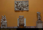 Frieze Temple of Athena Nike and Imperial Roman Funerary Sculptures Uffizi Gallery Florence