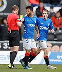 03.11.18 St Mirren v Rangers: Daniel Candeias gets his first booking