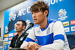 Gamba Osaka forward player Takashi Usami attends press conference ahead of the 2015 AFC Champions League Quarter-Final 1st Leg match between Jeonbuk Hyundai Motors and Gamba Osaka on August 25, 2015 at the Jeonju World Cup Stadium, in Jeonju, Korea Republic. Photo by Xaume Olleros /  Power Sport Images