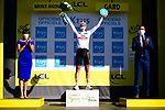Tadej Pogacar (SLO) retains the young riders White Jersey at the end of Stage 6 of Tour de France 2020, running 191km from Le Teil to Mont Aigoual, France. 3rd September 2020.<br /> Picture: ASO/Pauline Ballet   Cyclefile<br /> All photos usage must carry mandatory copyright credit (© Cyclefile   ASO/Pauline Ballet)