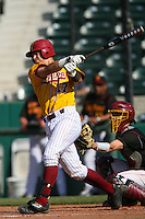 March 16 2009: John Murrian of the Winthrop Eagles during game against the USC Trojans at Dedeaux Field in Los Angeles,CA.  Photo by Larry Goren/Four Seam Images