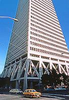 San Francisco:  Transamerica Pyramid, 600 Montgomery St. Wm. Pereira & Assoc., 1972.  Photo '83.