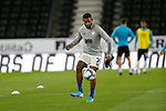 28.10.20 - Derby County v Cardiff City - Sky Bet Championship - Leandra Bacuna of Cardiff warms up