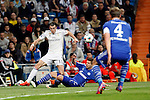Real Madrid's Bale during Champions League soccer match at Santiago Bernabeu stadium in Madrid, Spain. March, 10, 2015. (ALTERPHOTOS/Caro Marin)