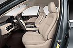 Front seat view of 2021 Lincoln Aviator - 5 Door SUV Front Seat  car photos