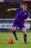 Anderlecht midfielder Stefania Vatafu (10) pictured during a female soccer game between RSC Anderlecht Dames and AA Gent Ladies on the seventh matchday of the 2020 - 2021 season of Belgian Womens Super League , friday 13 th of November 2020  in Overijse , Belgium . PHOTO SPORTPIX.BE | SPP | STIJN AUDOOREN
