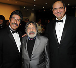 From left: Jose Cruz, Carlos Cruz-Diaz and Juan Gil at the Latin American Experience Gala and Auction at the Museim of Fine Arts Housotn Saturday Feb. 05,2011.(Dave Rossman/For the Chronicle)