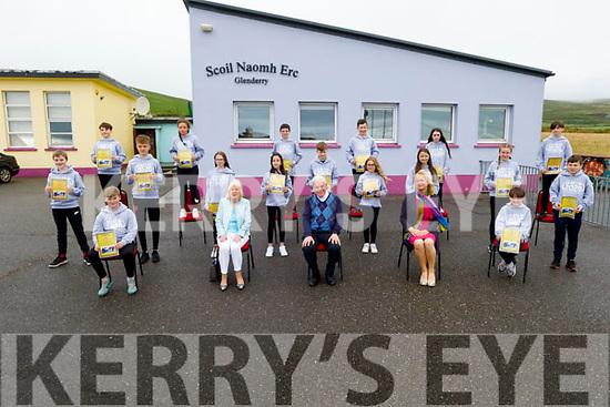 The graduating class of 2020 at Glenderry NS in Ballyheigue as the graduated on Friday.<br /> Seated l to r: :Sean Flahive, Brid Cotter (Chairperson BoM) Fr Brendan Walsh, Mrs Mary Monahan (Class Teacher)  and Darragh Duggan.<br /> Middle row l to r : Adam Thornton Rory O Halloran Eva Kenny Ellie Walsh Jenna Lynch.<br />  Shauna Casey Charlie Corridon Eamonn Harty<br /> Back row: Cody Goggin, Molly Donegan  Aaron Horgan  Liam Carroll  Saoirse O Shea  Jacob Quille