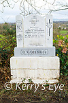 The memorial to  John O'Connor who was killed by the Black and Tans on the 14th December 1920 in Currow