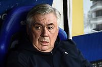 Carlo Ancelotti of Napoli <br /> Parma 24-02-2019 Ennio Tardini <br /> Football Serie A 2018/2019 Parma - Napoli <br /> Foto Image Sport / Insidefoto