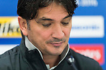 Al Ain FC coach Zlatko Dalic and midfielder Lee Myung-joo attend a press conference ahead the 2016 AFC Champions League Final 1st Leg match between Jeonbuk Hyundai Motors (KOR) and Al Ain (UAE) at Jeonju World Cup Stadium on 18 November 2016, in Jeonju, South Korea. Photo by Victor Fraile / Power Sport Images