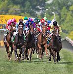 MAY 16, 2015: The Stella Artois Gallorette Handicap   at Pimlico Race Course in Baltimore, Maryland. Jon Durr/ESW/Cal Sport Media