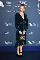 Lilly Newmark<br /> arriving for the 2018 IWC Schaffhausen Gala Dinner in Honour of the BFI at the Electric Light Station, London<br /> <br /> ©Ash Knotek  D3437  09/10/2018