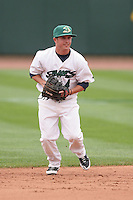 June 17th 2008:  Chris Cates of the Beloit Snappers, Class-A affiliate of the Minnesota Twins, during the Midwest League All-Star Game at Dow Diamond in Midland, MI.  Photo by:  Mike Janes/Four Seam Images