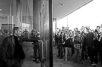 """""""Back door Man"""" - 2010<br /> <br /> London, 10/11/2010. Student demonstration organised by the NUS (National Union of Students) and the UCU (University and College Union). Between 30,000 and 52,000 protesters arrived from all the regions of Great Britain and Northern Ireland and gathered in central London to march against the increases of student fees, culminating with violence between students and police officers and the occupation of 30 Millbank (Tory Party HQ) in Westminster."""