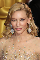 HOLLYWOOD, CA, USA - MARCH 02: Cate Blanchett at the 86th Annual Academy Awards held at Dolby Theatre on March 2, 2014 in Hollywood, Los Angeles, California, United States. (Photo by Xavier Collin/Celebrity Monitor)
