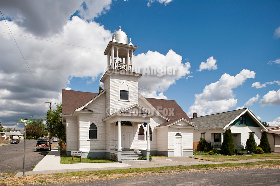 Historic St. Mathews Church, built 1913 by Germain immigrants from Russia's Black Sea, Odessa, Wash.