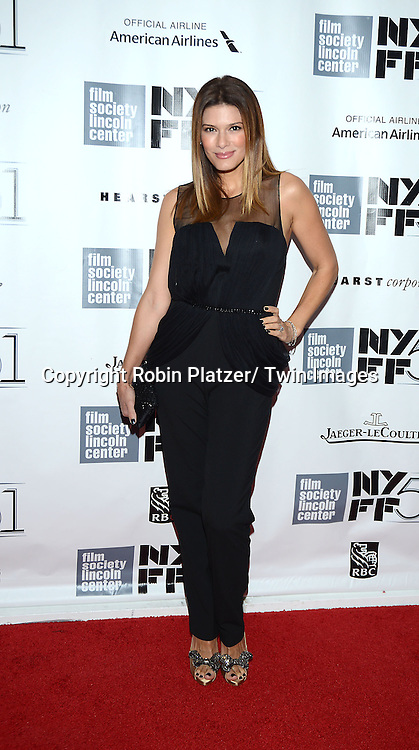 """Angelique Madrid De Luca attends the 2013 New York Film Festival Opening Night Premiere of """"Captain Phillips"""" on September 27, 2013 at <br /> Alice Tully Hall in New York City."""
