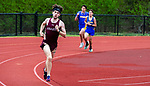 OXFORD, CT 050421JS15—Sacred Heart's Jesse Breidenbach finished first in the 1600 meter run during their NVL track meet with Oxford and Seymour Tuesday at Oxford High School. <br /> Jim Shannon Republican American