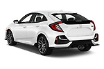Car pictures of rear three quarter view of 2020 Honda Civic-Hatchback Sport-Touring 5 Door Hatchback Angular Rear