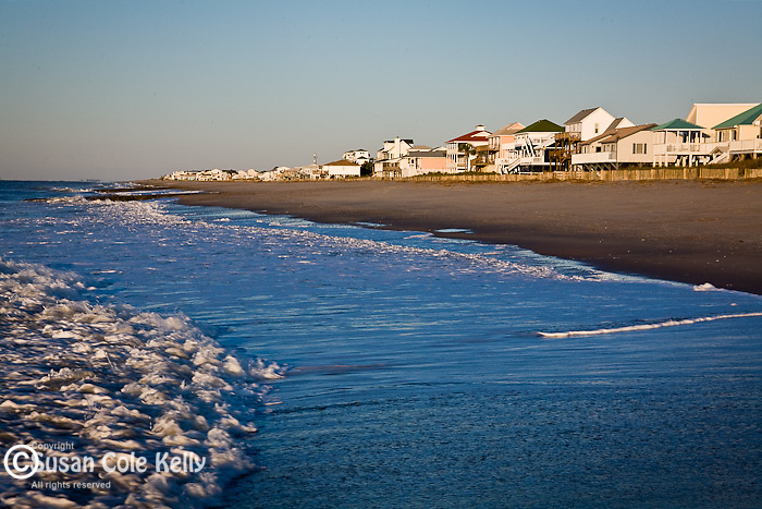 Cottages on Edisto Beach, SC, USA