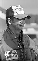 NASCAR driver Donnie Allison, Atlanta Journal 500 at Atlanta International Raceway in Hampton, GA on November 6, 1983. (Photo by Brian Cleary/www.bcpix.com)