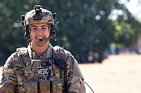 Portrait of Young Male Soldier, Model-Released and DoD-compliant