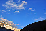Moonrise Over Lhotse, Nepal