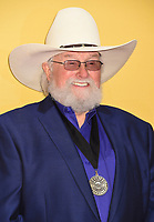 06 July 2020 - Country music and southern rock legend Charlie Daniels has passed away after suffering a stroke. The Grand Ole Opry member and Country Music Hall of Famer was 83. File Photo: 02 November 2016 - Nashville, Tennessee - Charlie Daniels. 50th Annual CMA Awards. Then. Now. Forever Country. 2016 CMA Awards, Country Music's Biggest Night, held at Bridgestone Arena. Photo Credit: Laura Farr/AdMedia