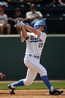 March 20, 2010: Jeff Gelalich (20) of UCLA during game against Oral Roberts at UCLA in Los Angeles,CA.  Photo by Larry Goren/Four Seam Images