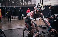 Eli Iserbyts (BEL/Pauwels Sauzen-Bingoal) post race face<br /> <br /> X2O Herentals Cross 2020 (BEL)<br /> <br /> ©kramon