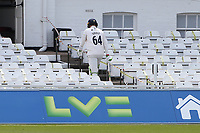 Peter Siddle of Essex leaves the field having been dismissed for 6 during Nottinghamshire CCC vs Essex CCC, LV Insurance County Championship Group 1 Cricket at Trent Bridge on 9th May 2021
