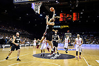 New Zealand Tall Blacks' Jordan Ngatai in action during the FIBA World Cup Basketball Qualifier - NZ Tall Blacks v Syria at TSB Bank Arena, Wellington, New Zealand on Sunday 2 2018. <br /> Photo by Masanori Udagawa. <br /> www.photowellington.photoshelter.com