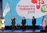 Toronto, Ontario, August 15, 2015. Closing ceremony at the 2015 Parapan Am Games . Photo Scott Grant/Canadian Paralympic Committee