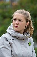 Green party candiate Une Bastholm <br /> <br /> MDGs Une Bastholm førstekandidat i Oslo. <br /> <br />  © Fredrik Naumann/Felix Features