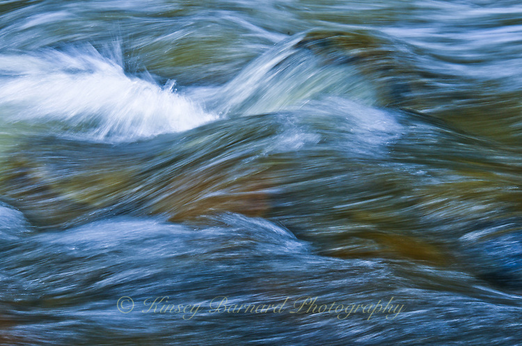 """""""BIG CREEK""""<br /> <br /> Waves of water rushing over boulders in Big Creek Montana 24 x 36 signed, original, gallery wrapped wrapped canvas $2,500. Check for availability"""