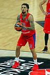 Turkish Airlines Euroleague.<br /> Final Four - Vitoria-Gasteiz 2019.<br /> Semifinals.<br /> CSKA Moscow vs Real Madrid: 95-90.<br /> Daniel Hackett.