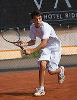 August 6, 2014, Netherlands, Rotterdam, TV Victoria, Tennis, National Junior Championships, NJK,  Jesse den Hartog (NED)<br /> Photo: Tennisimages/Henk Koster