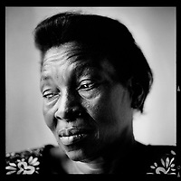 The words of Maman Annie: ''I feel something else', that's what the midwife said to me. So what happened? That day my husband had gone to Lubumbashi to cover the visit of King Baudoin and Queen Fabiola. He was working as a journalist for Mobuto. Someone had tipped manioc flour into his hair - that's what we do if someone's carrying twins.  When Mobuto saw this, he came over and congratulated him. When he heard we were having a little girl and a little boy, he said 'Well, we'll have to call them Baudouin and Fabiola.' And that's what they've been called ever since!'