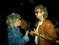Montreal (Qc) CANADA - 1989- Catherine Lara, Luc Plamondon<br /> <br /> <br /> <br /> -Photo (c)  Images Distribution