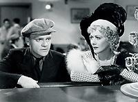 James Cagney<br /> amd Gladys George <br /> in the ROARING TWENTIES