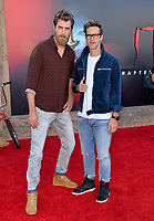 "LOS ANGELES, USA. August 27, 2019: Link Neal & Rhett McLaughlin at the premiere of ""IT Chapter Two"" at the Regency Village Theatre.<br /> Picture: Paul Smith/Featureflash"